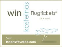 Win free air tickets at http://thebesttravelled.com/de/contest