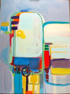 """Saatchi Online Artist: Staci Cross; Acrylic, 2012, Painting """"Can't stop"""""""