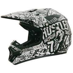 Rockhard Rockhard Hustler Volume III Helmet - Black White