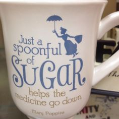 I so need to get this. I saw this mug at Hallmark today and absolutely love it! Mary Poppins is my absolute favorite Disney movie.