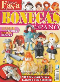Pegue e Faça Especial - Bonecas de Pano - 84 - Marcia M - Picasa Web Albums