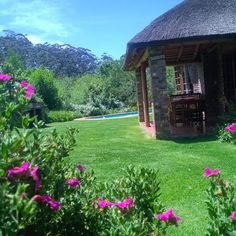 Coral Tree Cottages & Adventure Land #PlettenbergBay #GardenRoute #selfcatering #gardens #forest #nature #water #slide #pools www.coraltreecottages.co.za