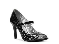 Rampage Criss Cross Pump - Could go with a black dress I have