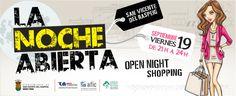 "Banner ""La Noche Abierta"""