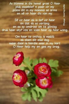 Birthday Qoutes, Happy Birthday Wishes, Afrikaans Language, Afrikaanse Quotes, Goeie More, Angels In Heaven, Mom Day, Scripture Verses, Friendship Quotes