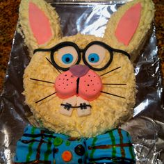 Our Easter bunny cake.