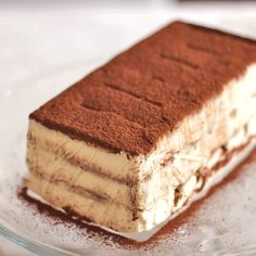 Healthy Homemade Tiramisu...  100% from scratch! It's rich, decadent and totally satisfying, yet it's no bake, refined sugar free, high protein, gluten free and all natural.  You'd never know it though, this tastes WAY too decadent to be good for you.