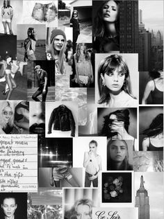 Beautiful Pre Fall mood board from Zoe Karssen