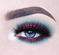 Eyeshadow inspiration - #Eyeshadow #viaGlamour