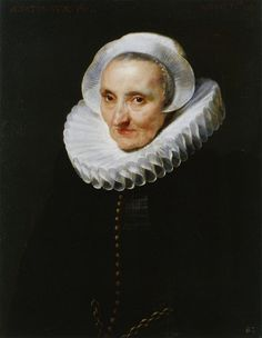 Anthony van Dyck, 1618 - - - Portrait of a Sixty-Year-Old Woman