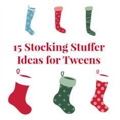 2013 Holiday Gift Guide: 15 Fun Stocking Stuffer Ideas for Tweens Teen Boys, Tween, Holiday Gift Guide, Holiday Gifts, Advent Calendar Fillers, Best Stocking Stuffers, Promote Your Business, Business Website, Gifts For Boys
