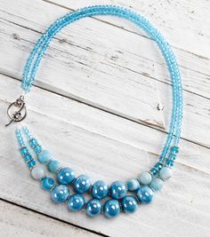 Blue Stone NecklaceBlue Stone Necklace