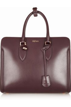 Alexander McQueen The Heroine leather tote | NET-A-PORTER