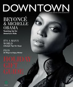 Beyonce  Downtown Magazine Winter 2012 issue