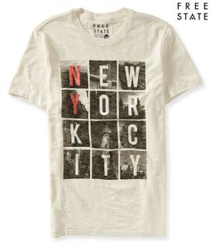 Free State NYC Scenes Graphic T - Aeropostale