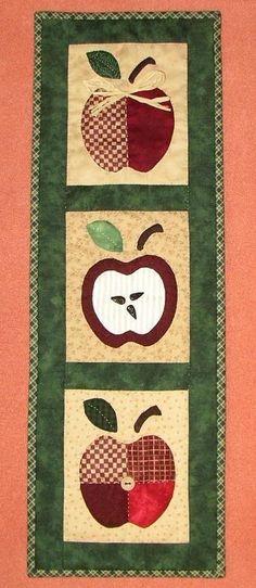 panneau pommes