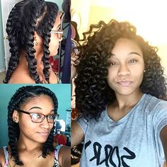  TRANSFORMATION TUESDAY  Amazing #waves on @_kharissa❤️ She used #flattwists to achieve this look #VoiceOFHair ========================= Go to VoiceOfHair.com ========================= Find hairstyles and hair tips! =========================