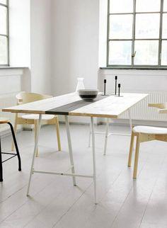 Die Wohnung individuell gestalten: Tisch selber bauen!