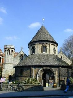 The Round Church, Cambridge. This is where I went to church while I was attending school there!!!!! Beautiful!!!!