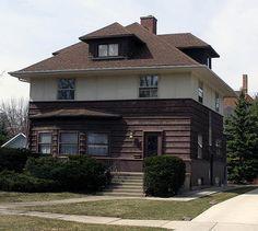 1894 - The Peter Goan House, 108 South Eighth Avenue, La Grange IL.  Sold in 1992 to Richard and Joanne Lazarski.