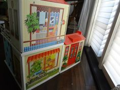 Collectable Vintage 1969 Lively Livin Barbie House w Maryann Roy Furnishings | eBay