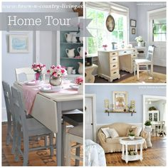 Town and Country Living Home Tour