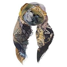 Suzi Roher Fashion for Women - CHRISTINA-MADONNA Scarf beautifully designed from Modal and Silk. Made in Italy. 140cm x 145cm,  Price USD $290.00