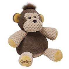 """Baby Mollie the Monkey  Ready to swing into your arms, Baby Mollie the Monkey is 7"""" tall when seated. She comes alive with fragrance when you place a Scent Pak in the zippered pocket in her back.  https://geneschur.scentsy.us/Scentsy/Buy/ProductDetails/MSY-MTM-KIT  baby gifts, child, collection, stuffed, animals, toys"""