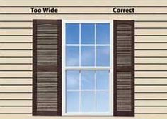 We'll show you exactly how to measure your windows width and height for decorative exterior vinyl shutters. If you still have questions about exterior shutters, ask us in our live chat! Outside Shutters, Window Shutters Exterior, Outdoor Shutters, Exterior Siding, Exterior House Colors, Exterior Paint, Exterior Design, Cottage Exterior, Pallet Shutters