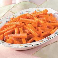 One of my FAV side dishes at Easter dinner....Candied Carrots