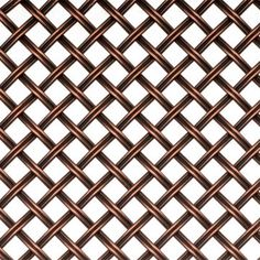 "Kent Design #DK08 3/8 Inch Fluted Wire Grille - 36"" X 48"""