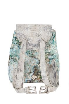 Francesca Miranda SS14 |Back| #Lace #Python #Encaje #Pitón #Backpack