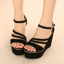 This shoes is in fashion design. It is soft and comfortable for wear. It can show your charming figure perfectly. It is a perfect option for you, act now.   Features: * With fashion design and popularity * Extremely fashion and eye-catching * Soft and comfortable to wear * Upper Material: S...