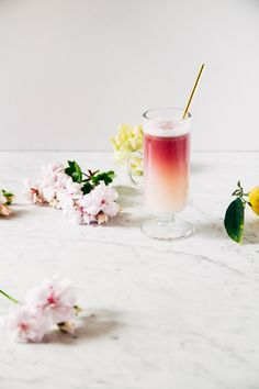 red wine gin sour cocktail recipe // Follow @DYTWeddingBlog for more!