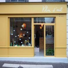 Welcome ! La boutique galerie est ouverte  ! #6ruedeguerry #boutiquegalerie #klindoeil #petitscreateurs @hejublog @farrowandball