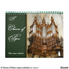 Shop A Charm of Pipes organ calendar created by organs. Oxford Town, Hidden Treasures, Montpellier, Gifts For Family, Pipes, Old And New, Cathedral, Calendar, Charmed