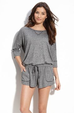Kensie Romper-- Loungewear done right! I want this immediately.