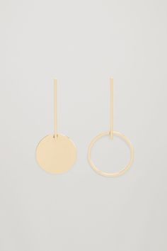 This is my berlin do it yourself city journal wish list cos image 1 of drop circle earrings in gold solutioingenieria Choice Image