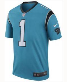 Nike Men's Cam Newton Carolina Panthers Legend Color Rush Jersey - Blue XL