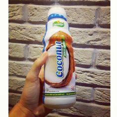 Кокосовая вода с кусочками кокосав любимом магазине Самары @gastronom1  #спасениеотжары #кокос #гастрономномер1 #самара #вкусно #coconut #drink #samara #gastronom1 #coco #yummy #yam #coconutwater