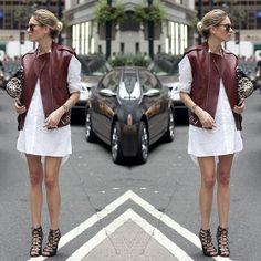 Shirtdress + Colete