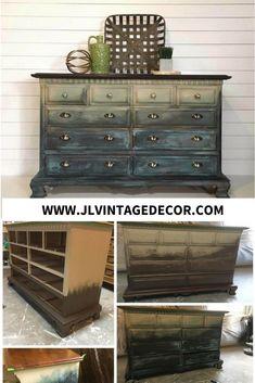 Ocean Tide - Custom Built Farmhouse Decor. Home Decor, Custom furniture, restoration furniture by J&L Vintage