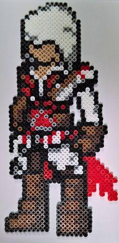 Large Assassin's Creed Ezio Perler Bead Art