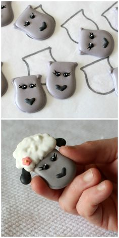 great way to add dimension to cookies royal icing transfers