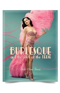 An international best-seller, Burlesque and the Art of the Teese/Fetish and the Art of the Teese is a tour of Dita's glamorous world of burlesque and fetishism. With beautiful photographs taken by the world's best pinup, glamour, and fashion photographers, this two-sided book is an essential not just for for Dita's fans, but for any fan of pinup art and burlesque. Copies purchased here come signed on the inside cover by Dita. (272 pages, Hardcover)