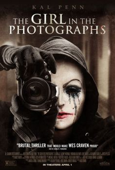 """Movie * """"A bored young woman in a sleepy community called Spearfish, starts receiving photographs of brutally murdered young women. Are they real or staged? The culprit is either a serial killer or some creep with a sick sense of humor."""" Beware the creepy photographer!"""