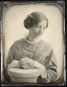 Miss Hodges of Salem, ca 1850, by Albert Sands Southworth