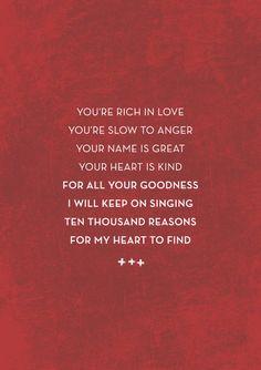 my loving GOD