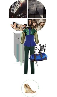 """""""Burberry SS13 Reveal"""" by donnakaren ❤ liked on Polyvore"""
