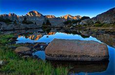 Dusy Basin Sunrise